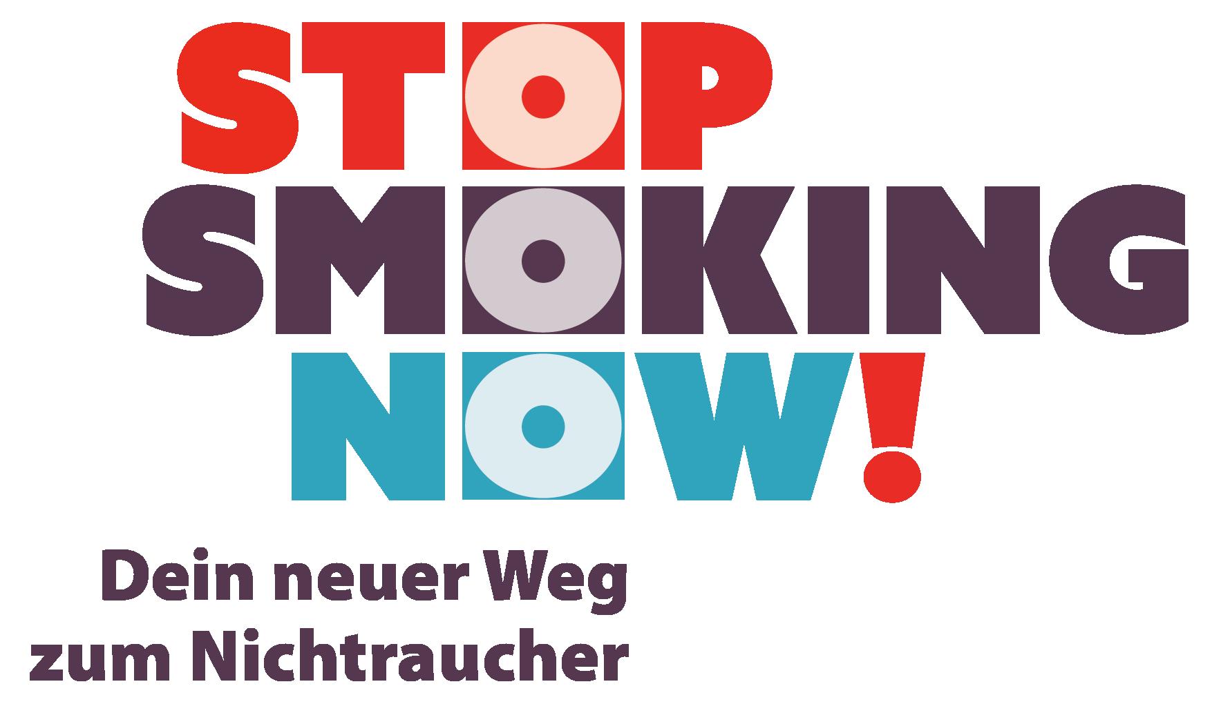Logo STOP SMOKING NOW - Nichtraucher werden leicht gemacht